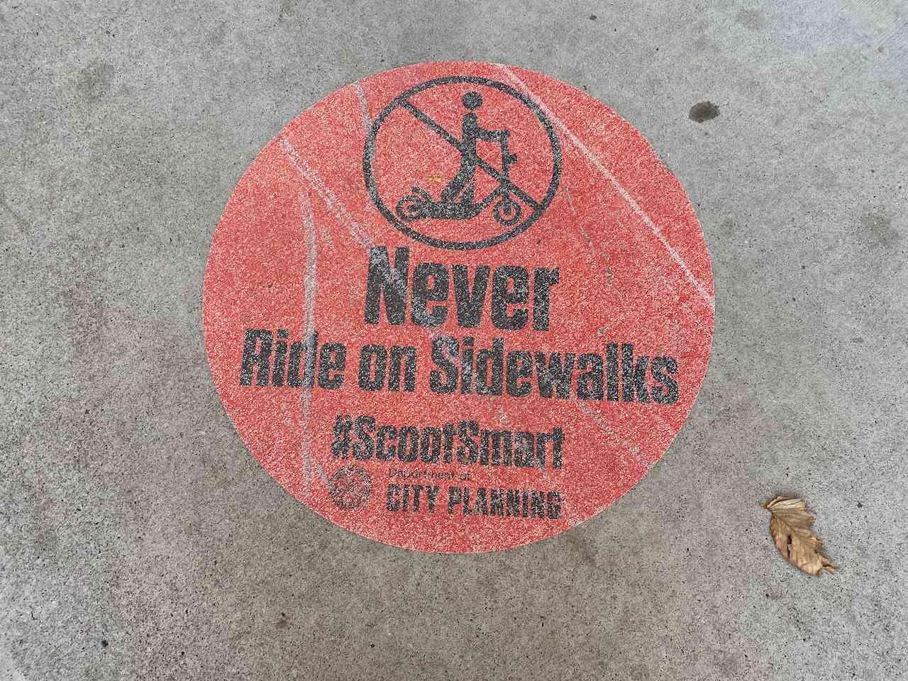 Atlanta scooter sticker