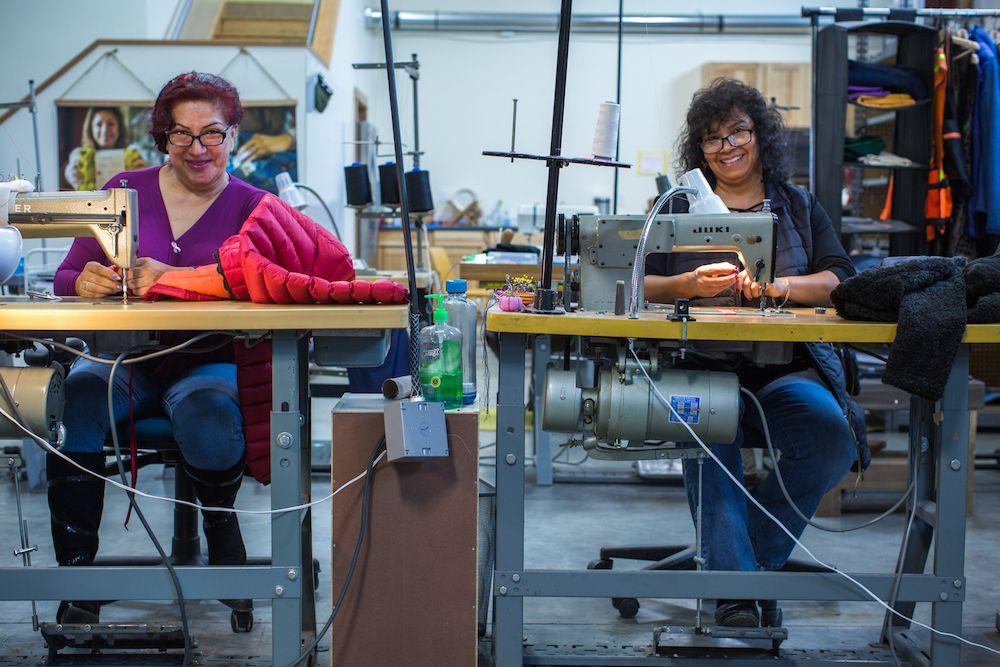 Renewal Workshop seamstresses