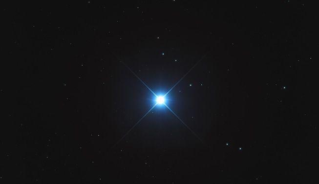 The star Sirius