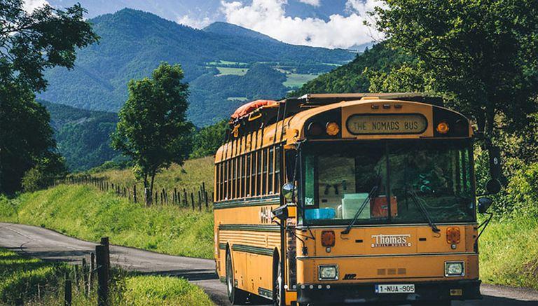 Revamped School Bus Home