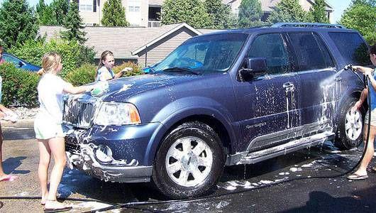 Lavado de autos ecológico