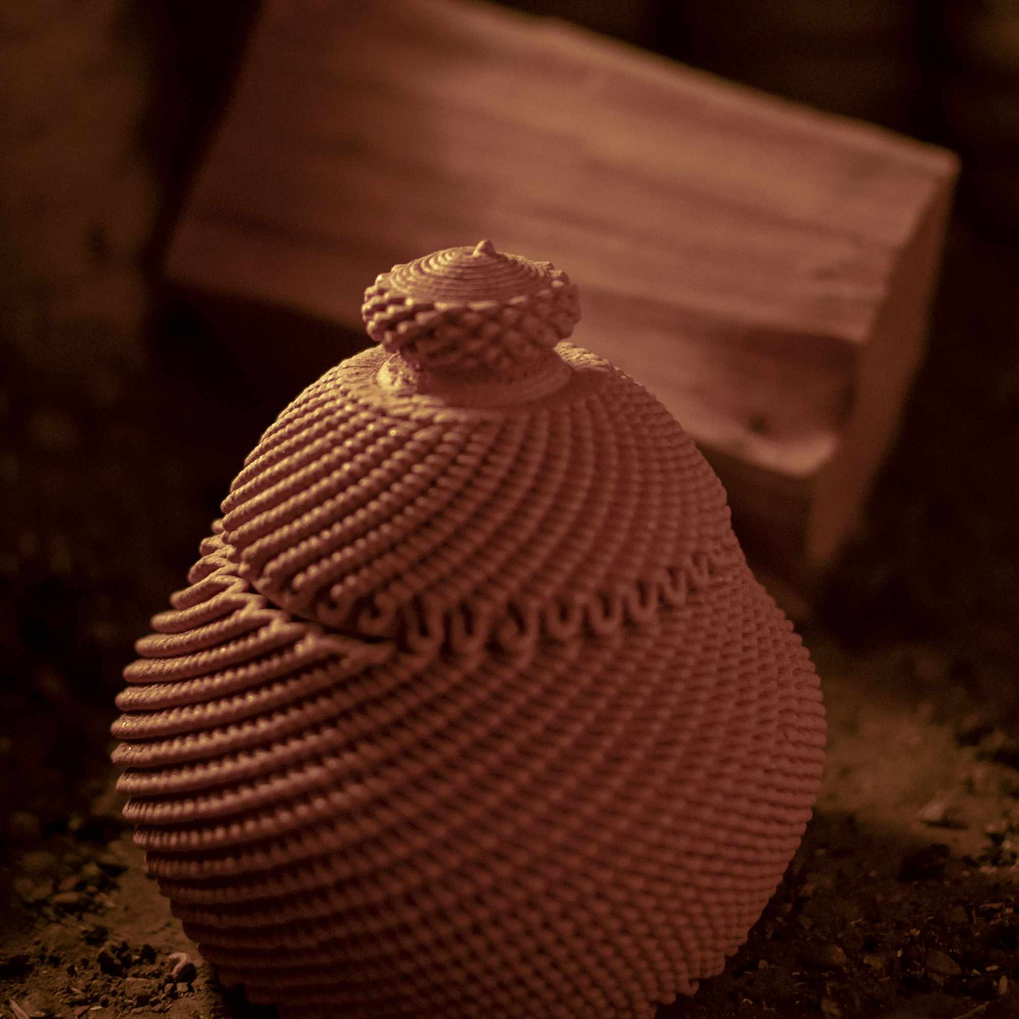 Casa Covida 3D printed adobe house by Emerging Objects 3D printed pottery