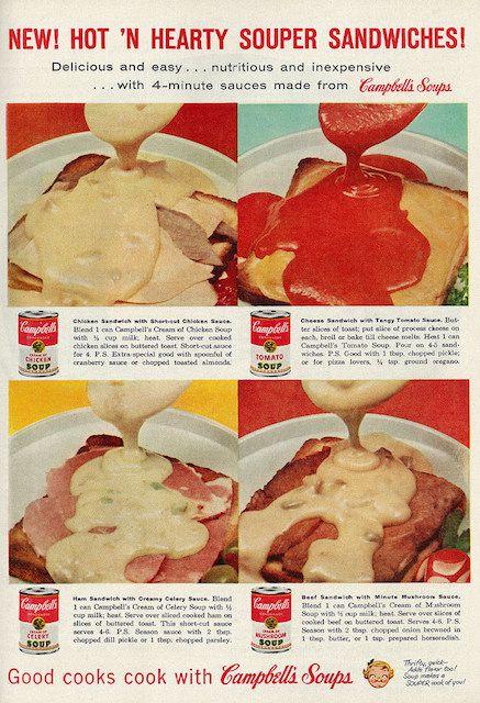 Campbell's souper sandwich recipes