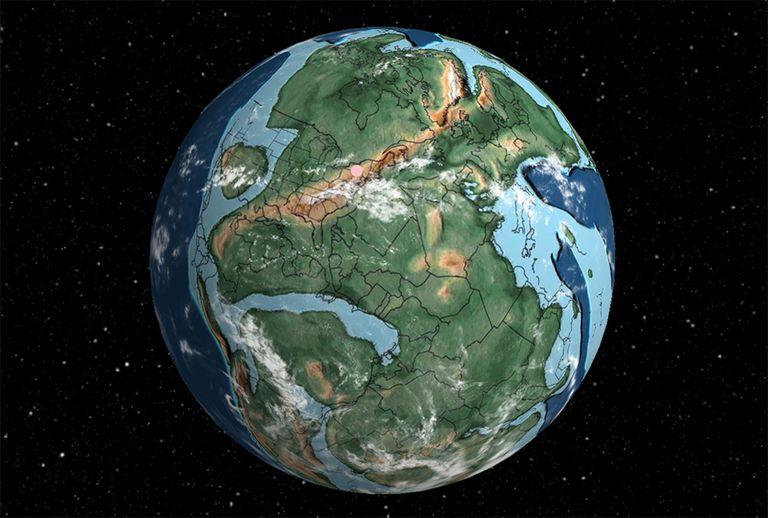 Mapa interactivo traza su dirección durante 750 millones de años de historia de la Tierra