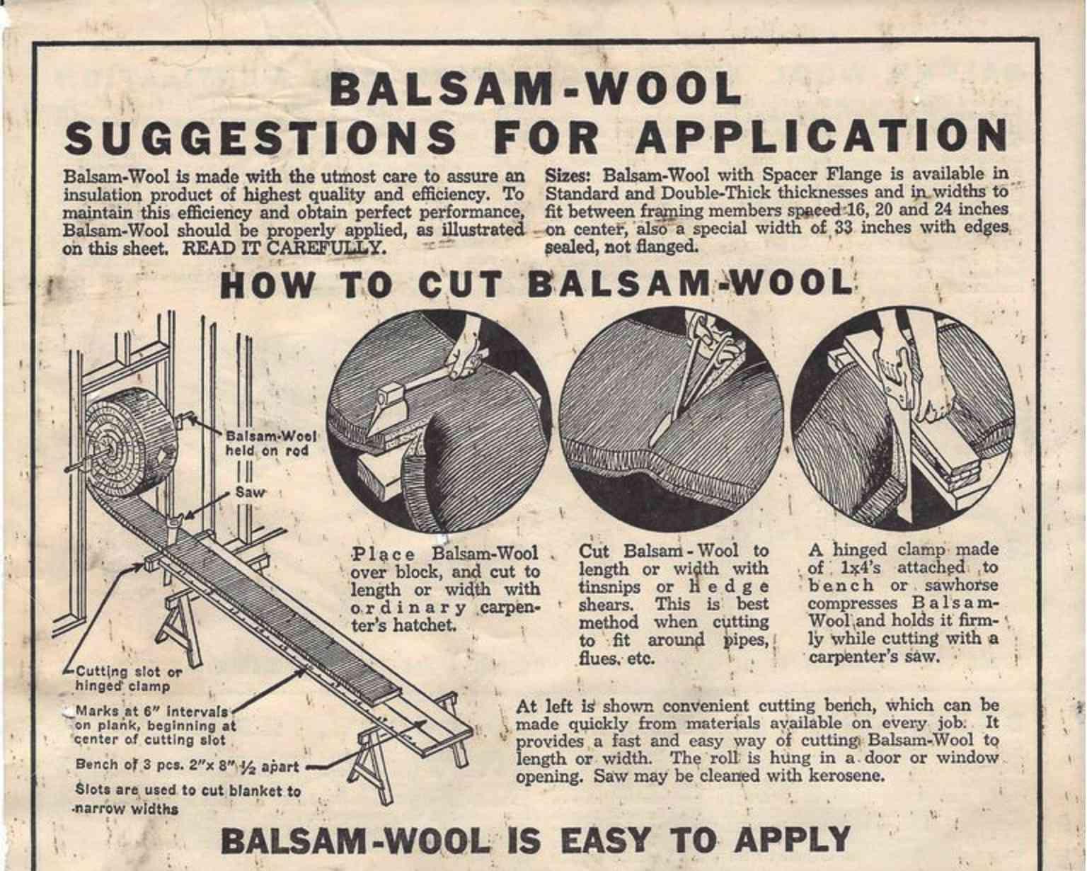 Balsam Wool ad