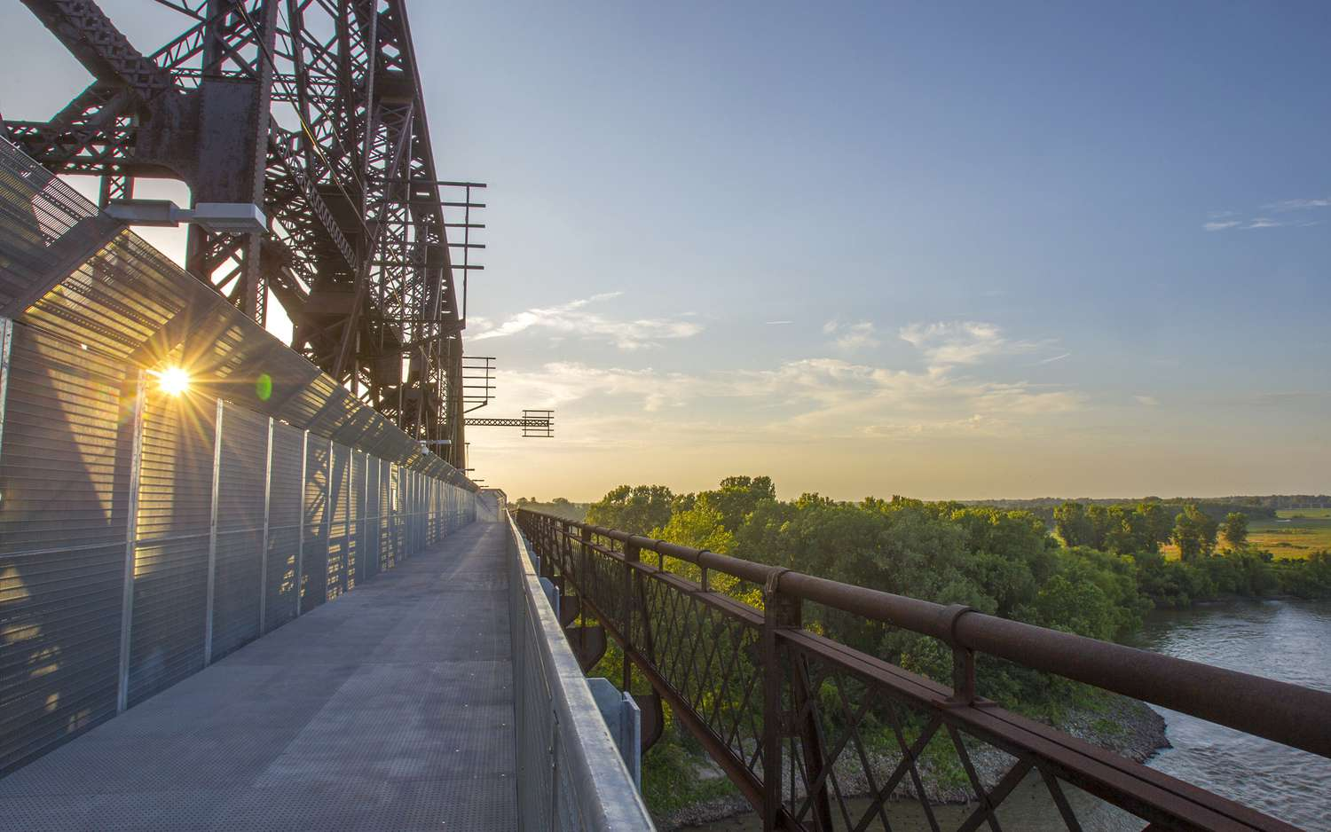 Big River Crossing, a rails-with-trails bridge project spanning the Mississippi River between Memphis, Tennessee, and West Memphis, Arkansas.