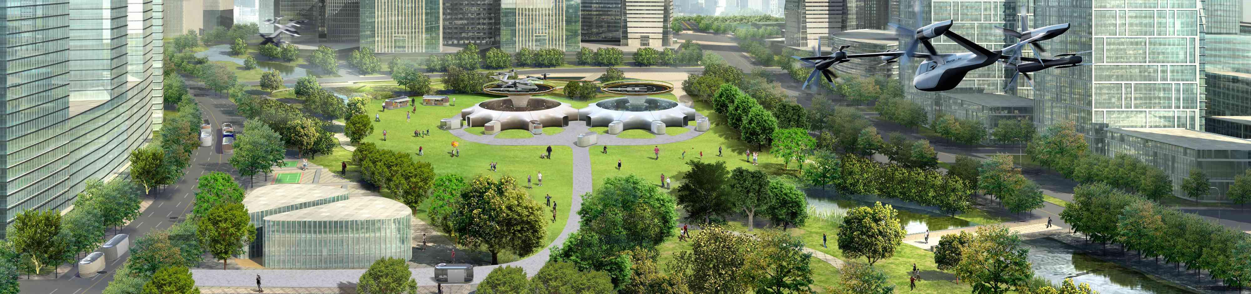 hubs in parks