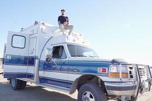 diy ambulance conversion for 13k exterior