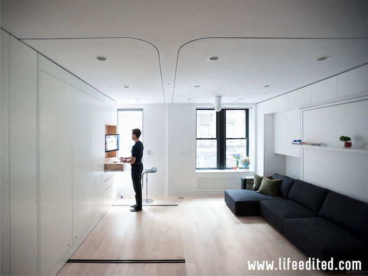 Recorriendo el apartamento LifeEdited de Graham Hill