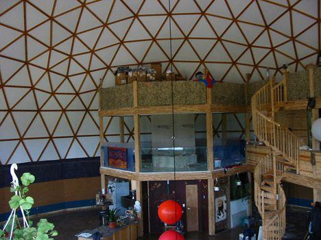 Interior of the dome