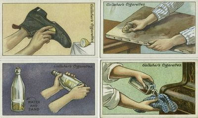 Cleaning tricks from the 1900s