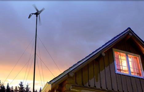 airbreeze mini wind turbine photo