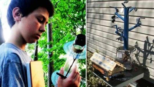 La invención solar de 13 años desata el debate