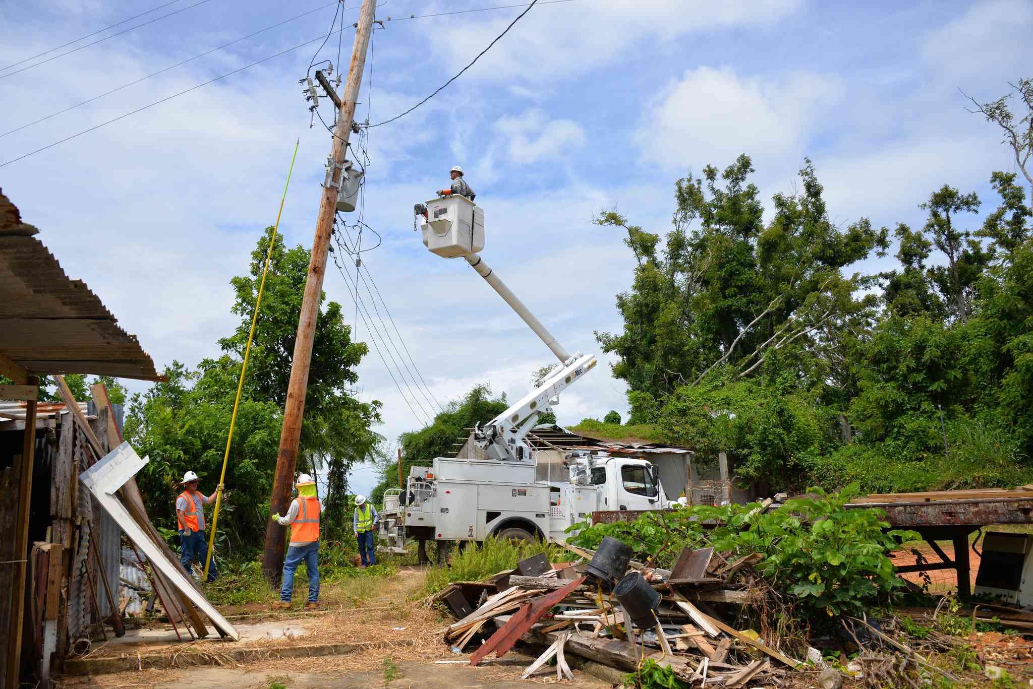 Hurricane Maria 2017 recovery in Puerto Rico