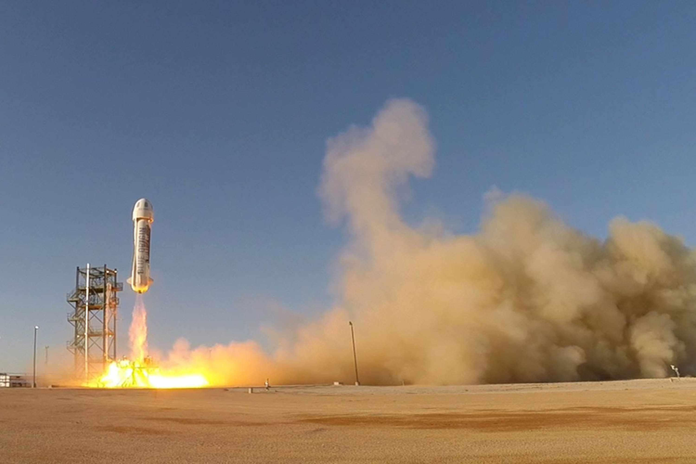 Launch of New Shepard