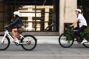 Bird Bikes with men and women