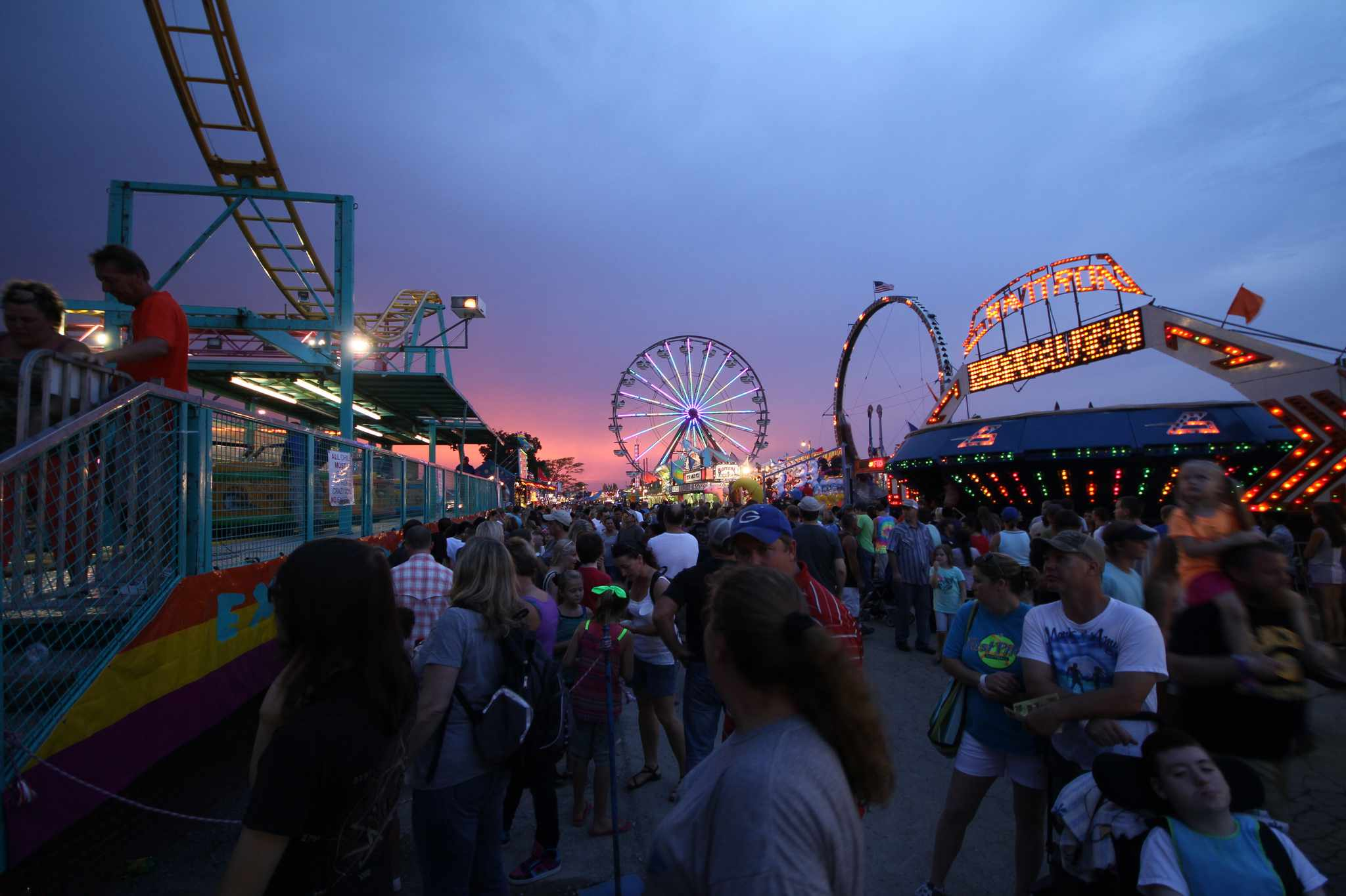 The Wilson County Fair is about 30 miles from Nashville.