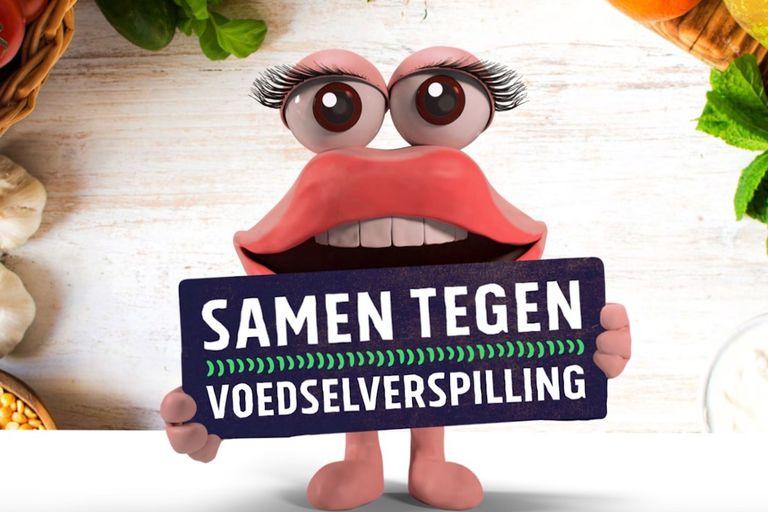 Becky the Dutch anti-food waste mascot