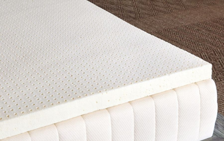 Soft Pure Green 100/% Natural Latex Mattress Topper Twin Size 1 Inch