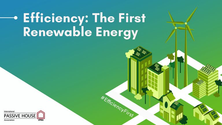 Efficiency the first renewable energy