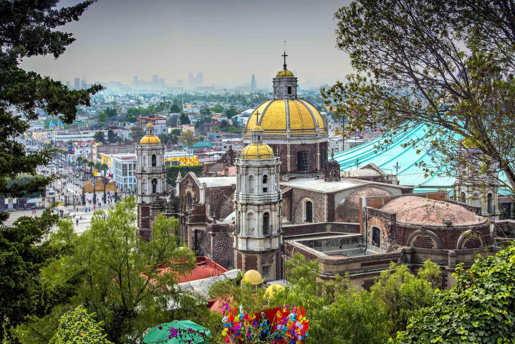 View of Mexico City skyline