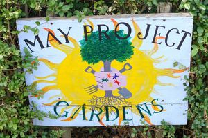 May Project Gardens Sign