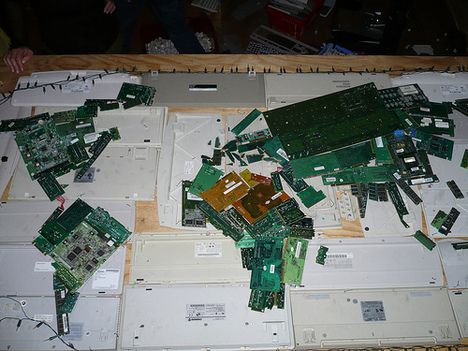 e-waste map of the world photo