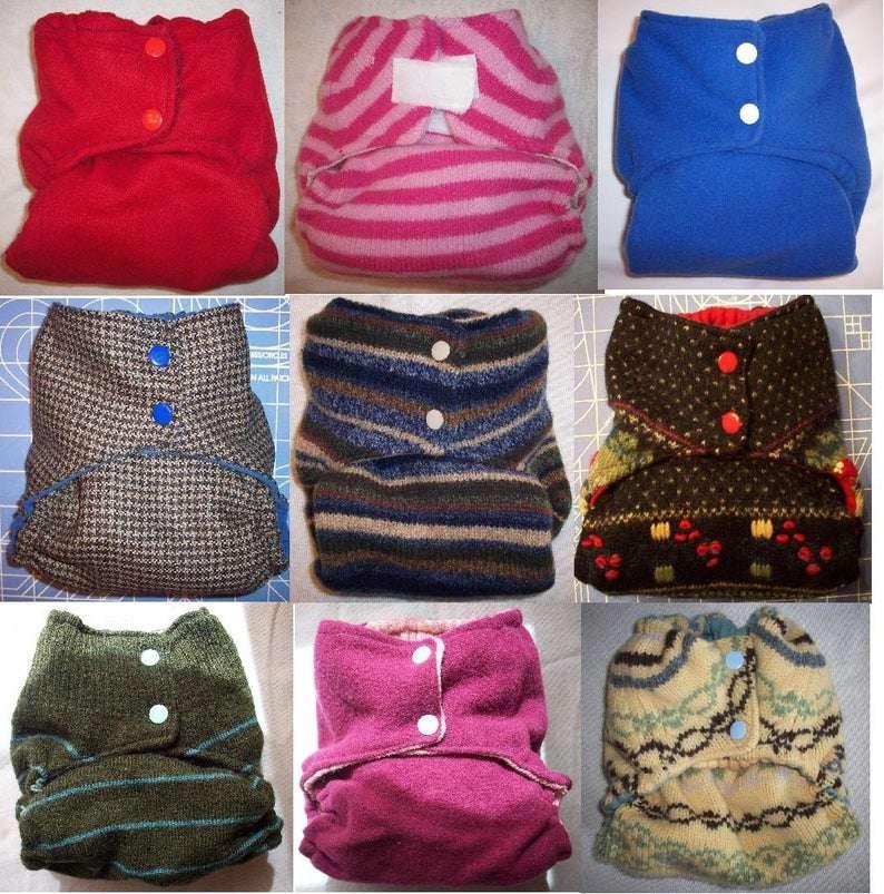MamaBear BabyWear One Size Wool Diaper Covers
