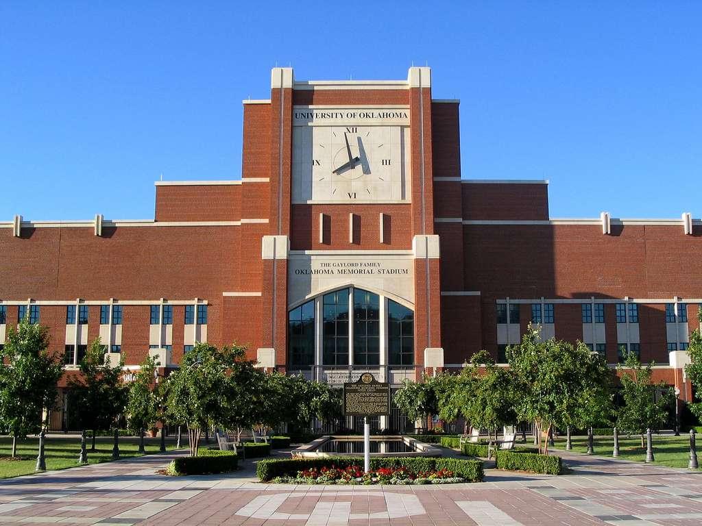 Entrance to Memorial Stadium at U of Oklahoma, Norman