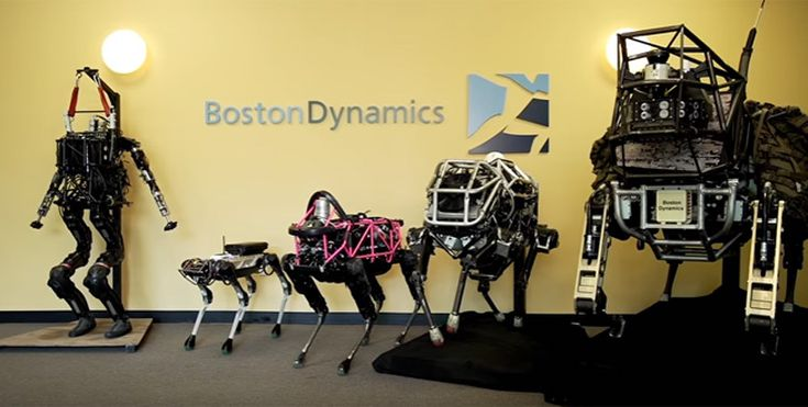 Meet Boston Dynamics' Family of Strange and Amazing Robots