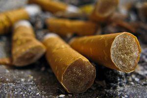 Cigarette butts as hazardous waste