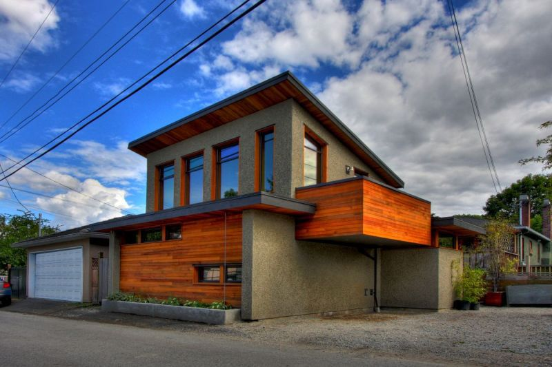 the first laneway house