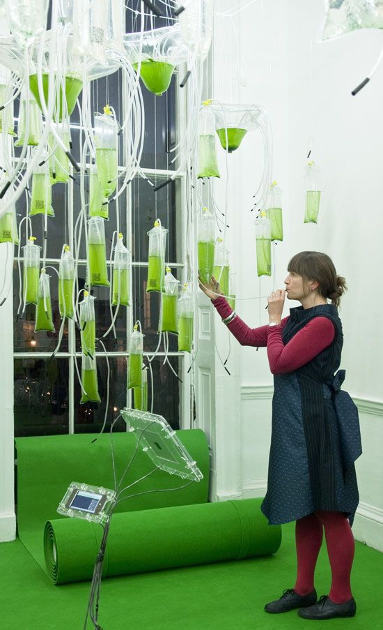 H.O.R.T.U.S. ecoLogicStudio algae energy farm