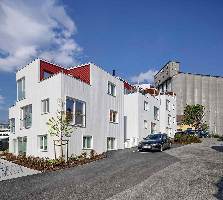 Vindmøllebakken Cohousing Project by Helen & Hard Architects exterior