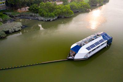 Ocean Cleanup mission, interceptor river cleanup, Klang River, Selangor