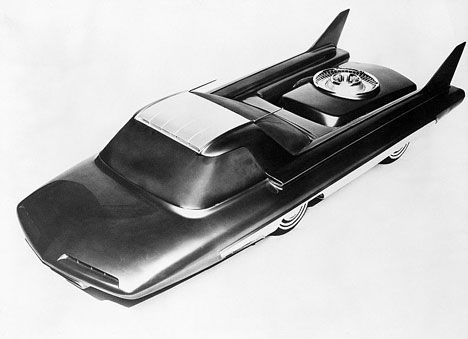 Ford Nucleon, study for a nuclear-powered car image