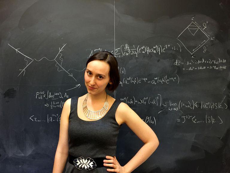 Ella puede eludir las referencias de Einstein, pero este físico teórico es alguien a quien hay que observar