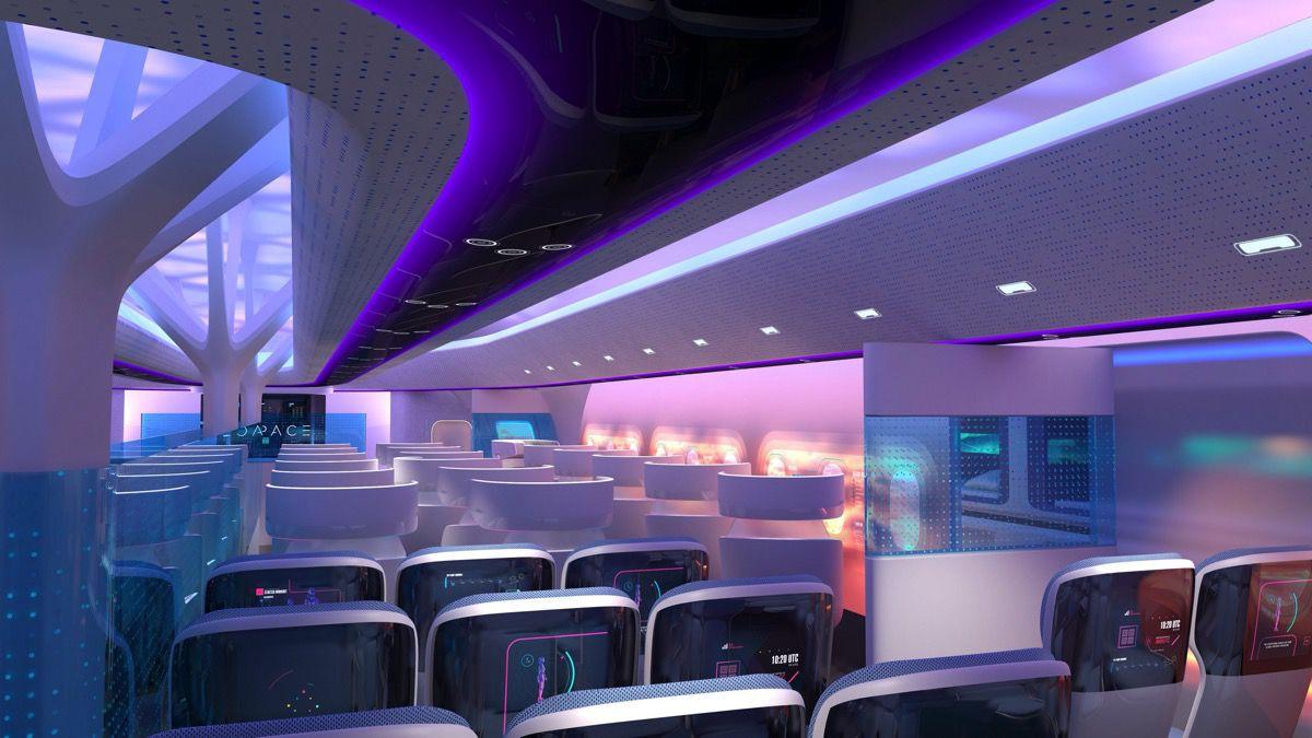 Airbus Maveric interior