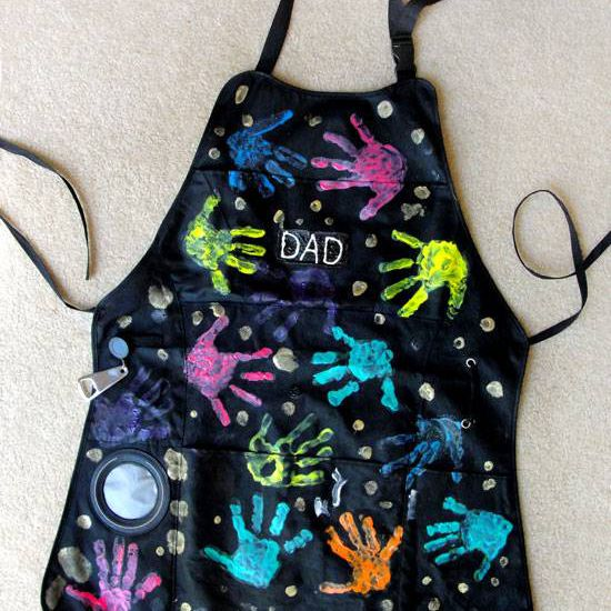 Fathers Day grill apron