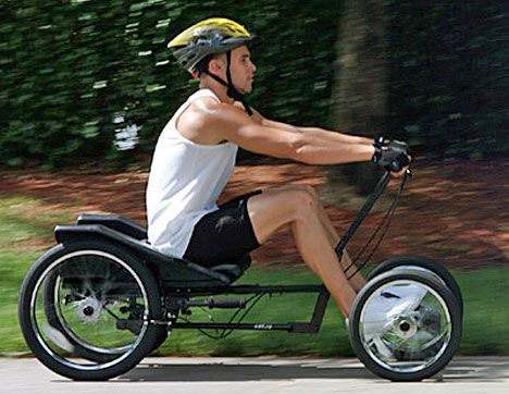 man riding the champiot Ultra Quad