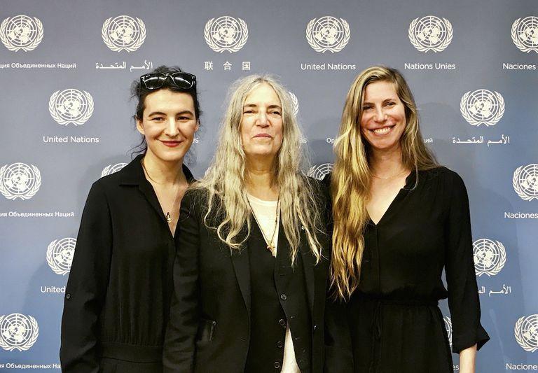 Patti Smith, Elevándose y luchando contra el cambio climático con arte