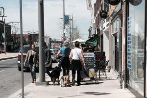 Walking in Toronto