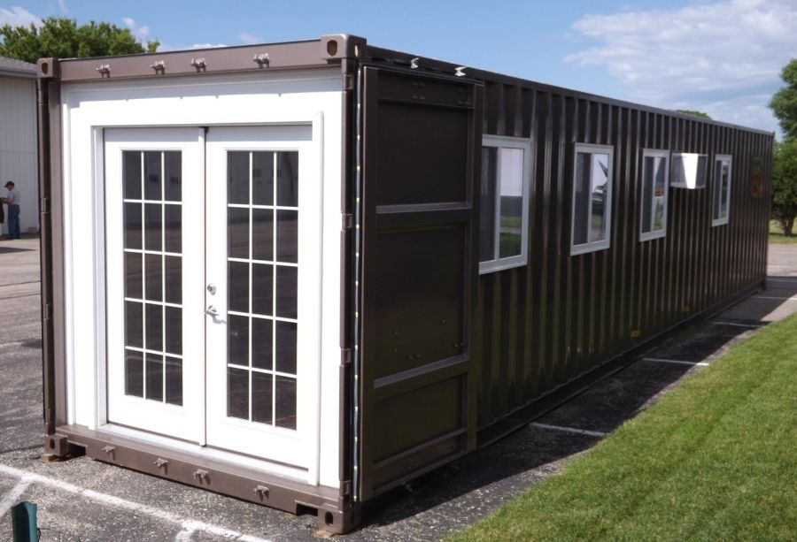 You Can Now Order A Shipping Container Tiny House On Amazon,Warm Neutral Living Room Colors