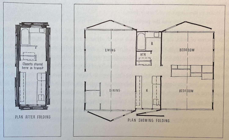 Folding House, 1947
