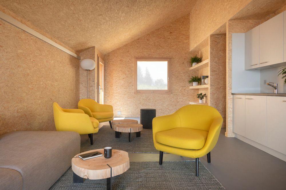 Whitepod interior