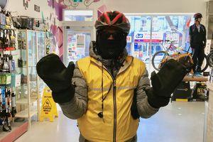 urbane scyclist