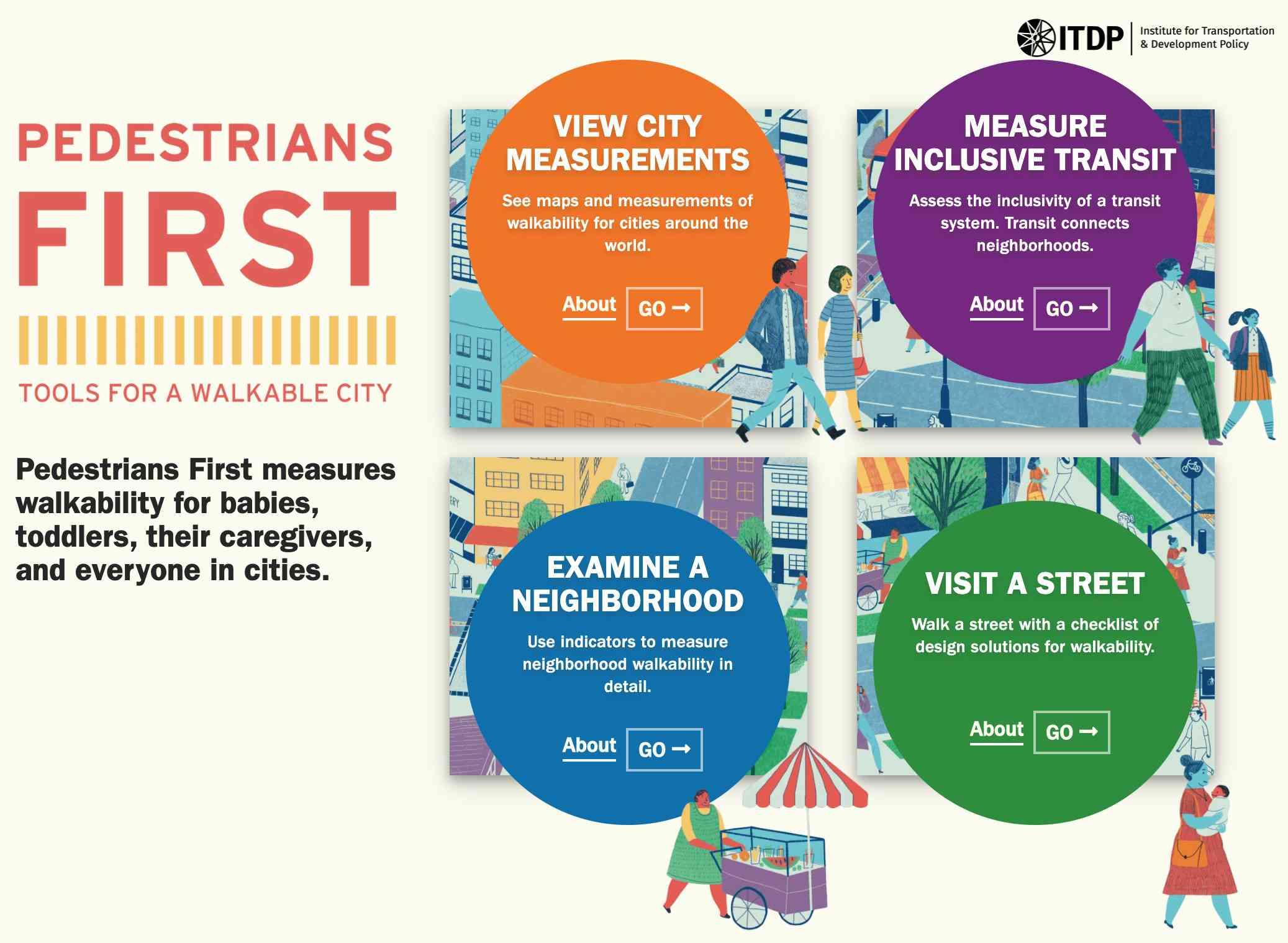 Pedestrian first standard