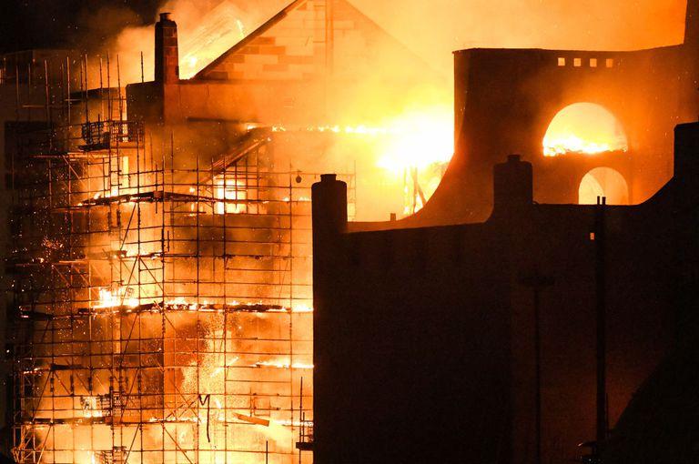 school of art burning