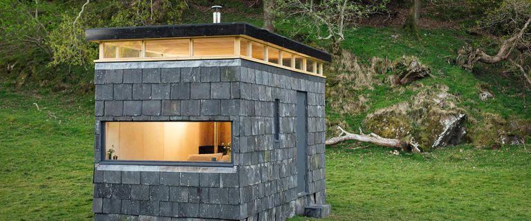 The Slatest in Tiny Houses: Una cabaña en Gales de TRIAS