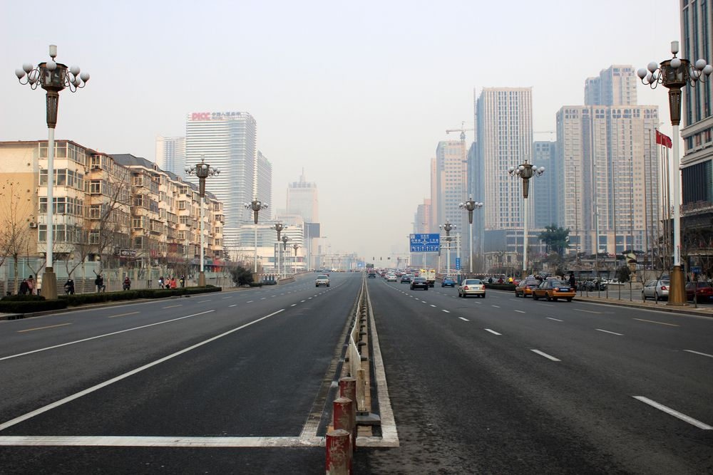 pollution in Shijiazhuang